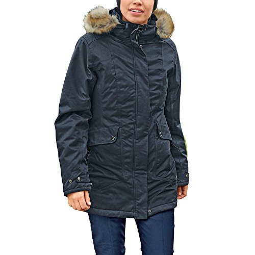 CMP Funktionsparka Damen Jacke, Antracite, 42, 3Z18766