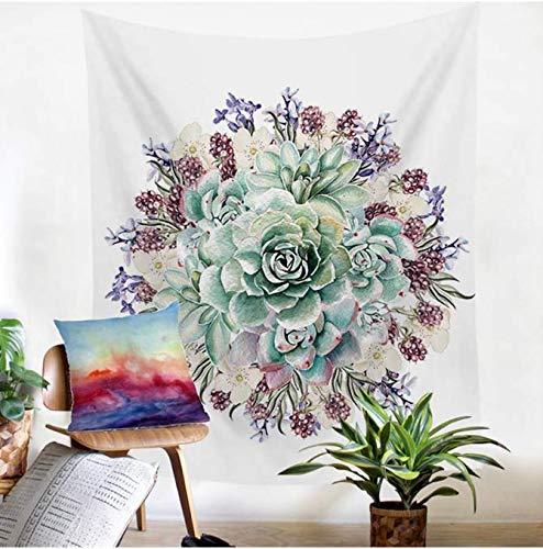 Mandala Blume, Wandteppich, Strandtuch, Decke, Picknickdecke, Yogamatte, Heimdekoration, Textilien, 200 x 150 cm