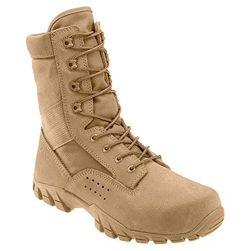 Bates Cobra 8' Hot Weather Jungle Boot Men 5.5 Coyote Brown