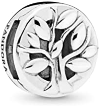 PANDORA Reflexions Tree of Life 925 Sterling Silver Clip Charm - 797779