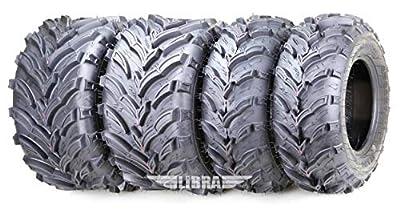 Set of 4 New ATV/UTV Tires 22x7-11 Front & 22x10-9 Rear /6PR -10333/10334