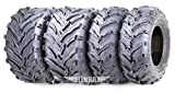 Best Atv Tires - Set of 4 New ATV/UTV Tires 22x7-11 Front Review