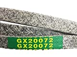 EM Mower Deck Belt - 42' - GX20072 - Compatible with John Deere - Replacement LA100 LA105 LA110 LA115