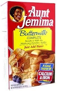 Aunt Jemima Buttermilk Complete Pancake And Waffle Mix 5Lb (2.26Kg)