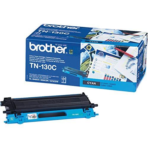 Brother TN130C - Cyan - Original - Tonerpatrone - für DCP 9040CN, 9045CDN HL-4040CN, 4050CDN, 4070CDW MFC 9440CN, 9450CDN, 9840CDW Brother Toner Cyan f. HL-4040CN HL-4050CDN 1500 Seiten