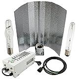 Cultivalley - Kit per coltivazione professionale da 400 W, Plug & Play, con lampadina ad alta pressione di sodio NDL HPS per fiori e lampade alogene a vapore in metallo MH