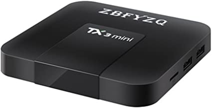 Zbfyzq TX3 Mini S905W tv Box Network Set top Box Android 7.1 2g 16g