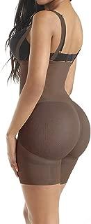 FETCHSHE Women Seamless Firm Tummy Control Shapewear Bodyshaper Sheer Mesh Butt Lifter Bodysuit Waist Trainer Corset