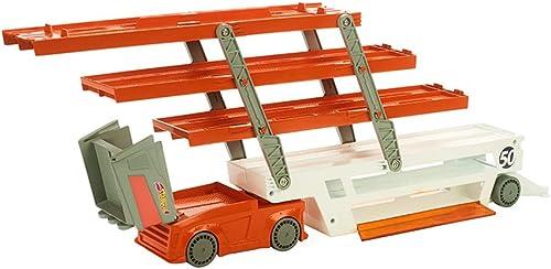 LINGLING-Verfolgen Kids Heavy Transport Truck Storage Spielzeugauto Für Kinder 3 Jahre Alt (Größe   Transporter)