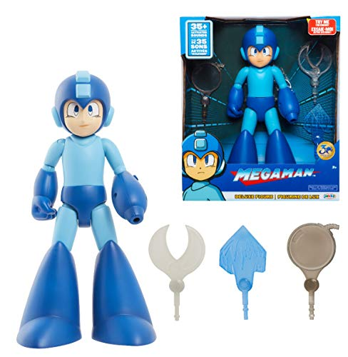 Megaman Classic Deluxe Figure with Lights & Sounds (Helene Fischer Best Of Dance Megamix)