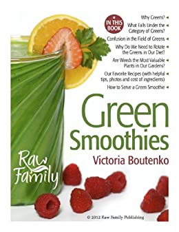 Green Smoothies by [Victoria Boutenko]