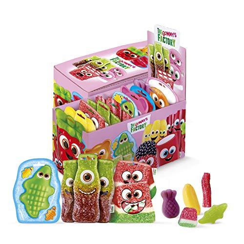Gommy's Factory Surtido Gominolas Party Box, 10 Unidades de 90 Gramos (900 Gramos)