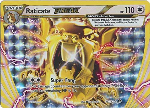 Pokemon - Raticate-Break (89/122) - XY Breakpoint - Holo