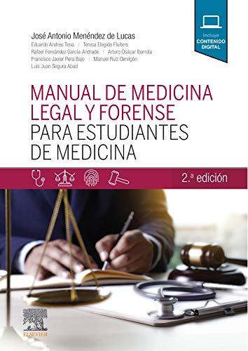 Book's Cover of Manual de medicina legal y forense para estudiantes de Medicina Versión Kindle