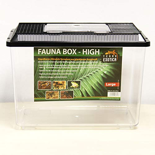 Terra Exotica Fauna Box High - Large 41 x 26 x 29 cm