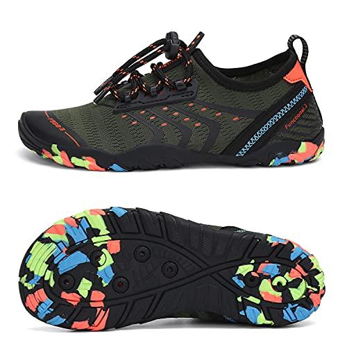 SAGUARO Mens Womens Kids Water Shoes Outdoor Aqua Barefoot Shoe Beach Swimming Gym