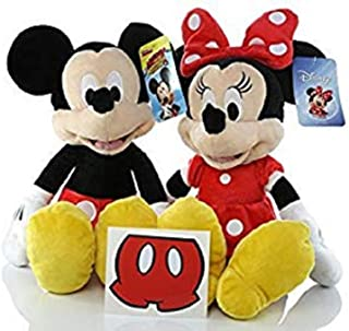 Cali RCGG Minnie Mouse Mickey Mouse Plush Doll Disney - 15 inch