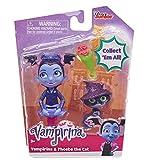 Vampirina Best Ghoul Friends Vee & Phoebe Cat Figure Toy, Multicolor