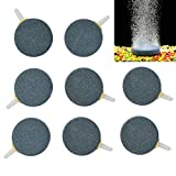 """Best Air Stones - Pawfly 8PCS Air Stone Ceramic 1.6"""" Air Bubble Review"""