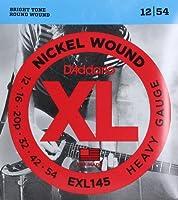 D'Addario ダダリオ エレキギター弦 ニッケル Heavy .012-.054 EXL145 【国内正規品】