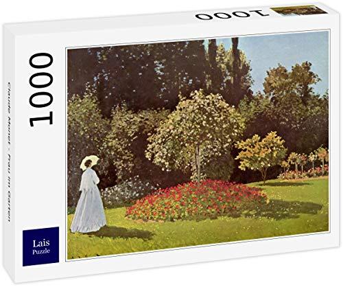 Lais Puzzle Claude Monet - Donna in Giardino 1000 Pezzi