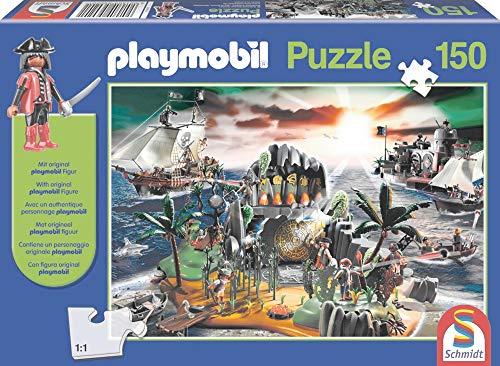 Playmobil, Pirateneiland, 150 stukjes Puzzel