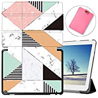 MAITTAO Case For Huawei MediaPad M3 10.1 BAH-W09, Slim Folio Smart Stand Cover with Auto Wake/Sleep For Huawei Honor WaterPlay 10.1 / Dtab D-01K 2017 Released Android Tablet, Marble 17