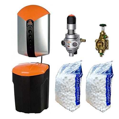 Judo Perfect Soft Set Enthärtungsanlage Hauswasserstation Umgehungsventil + Salz