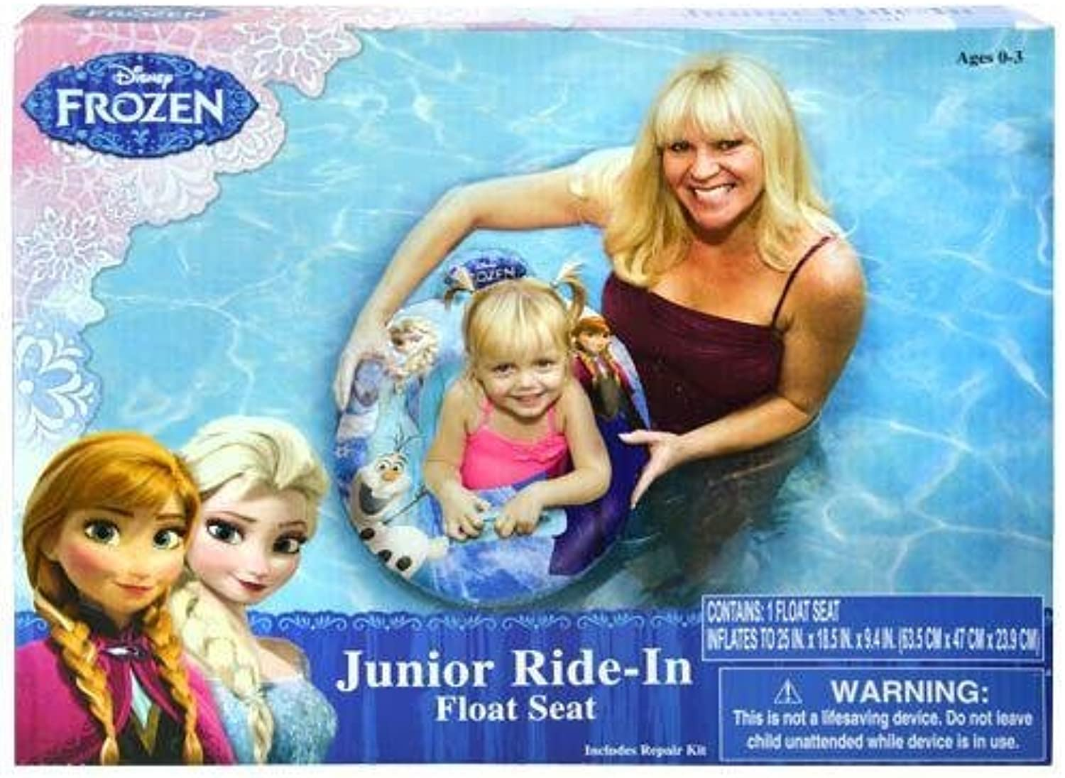 Disney Frozen Pool Float Seat  Baby Toddler Ridein Swim Ring