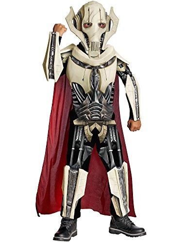 Rubies Costume Co R884521-M Jungen Deluxe Star Wars General Grievous Kost-m MEDIUM