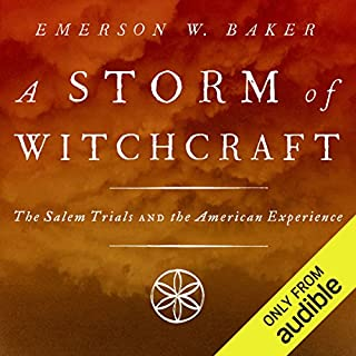 A Storm of Witchcraft audiobook cover art