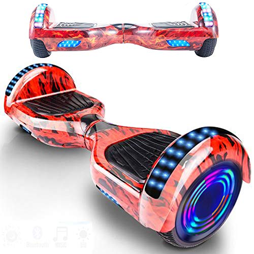 Magic Way Hoverboard - Bluetooth 6.5' - Motore 700 W -...