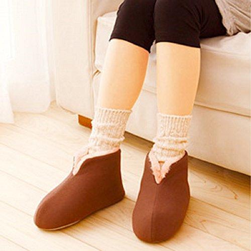 断熱多層構造で、足の熱を逃がさずに床からの冷気もシャットアウトしてくれる暖かスリッパです。足首までしっかりカバーしてくれるから、冷え性の人にはありがたい♪洗濯機での洗濯もOKです。