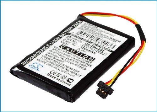 CS-TMX2SL Batería 1100mAh Compatible con [Tomtom] 4ET0.002.02, 4ET03, XL Holiday, XL IQ, XL Live 4EM0.001.02, XL2 V4 sustituye 6027A0106801