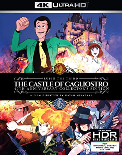Lupin the 3rd: The Castle of Cagliostro 4K UHD [Blu-ray]