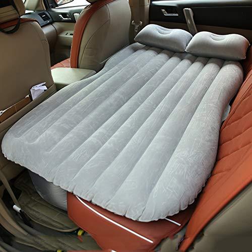 Vinteky Auto SUV Luftmatratze Bewegliche Dickere Luftbett Auto Matratze für Reisen Camping Outdoor Aktivitäten (grau)