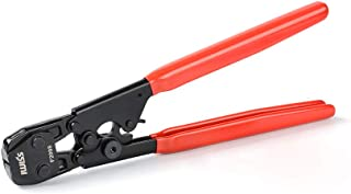 IWISS PEX Cinch Clamp Tool for Fastening Stainless Clamps from 3/8-Inch to 1-Inch with..