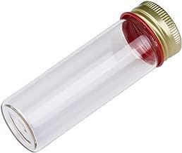 25ml Makarthy Tube with Aluminum Screw Cap, Borosilicate Glass, Flat Bottom, 28x85mm Karter Scientific 234W5 - Pack of 10