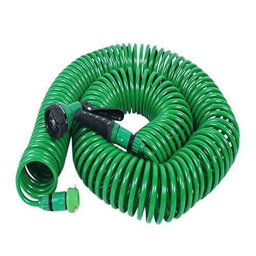 Ahomi Pistola de riego Extensible para Manguera de jardín Pistola para riego de césped para automóviles (S)