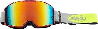 "O""NEAL | Fahrrad- & Motocross-Brille | MX MTB DH FR Downhill Freeride | Verstellbares Band, optimaler Komfort, perfekte Belüftung | B-20 Goggle | Unisex | Rot Neon-Gelb verspiegelt | One Size"