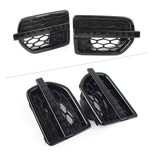 DAFALI Greatly Store Fit für Land Rover Discover 4 Auto Front Side Grill Air Intake Fender Vents Grill in Santorini 2010 2011 2011 2013 2013 2014 2015 2016