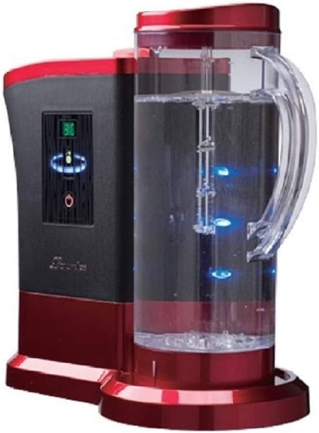 LOURDES HS-72 High order 67% OFF of fixed price Hydrogen Water - Generator Red