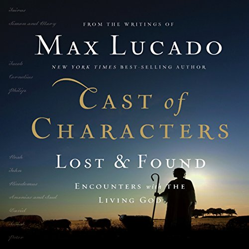 Cast of Characters: Lost and Found audiobook cover art