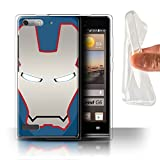 Hülle Für Huawei Ascend G6 Superheld-Helm Patriot Roboter