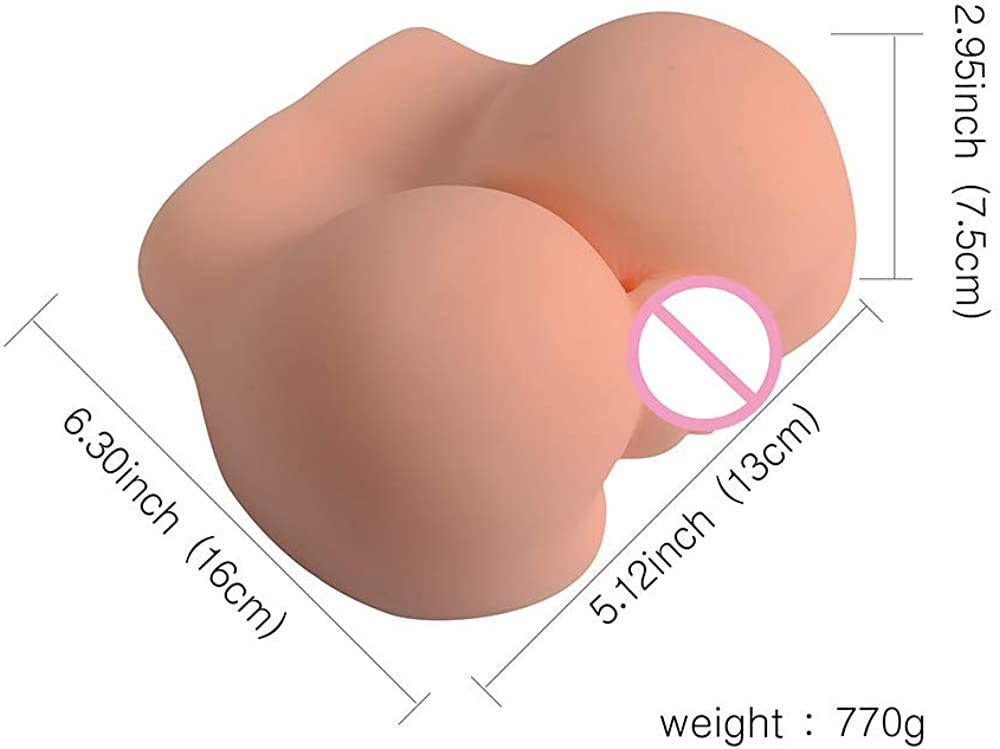 New RedBrowm 4D Male Masturbators Realistic Vagina Pussy Masturbation Sex Toy for Men