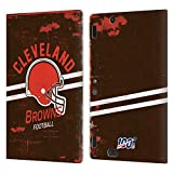 Head Case Designs Licenciado Oficialmente NFL Casco Distressed Look 100th Cleveland Browns Logo Art ...