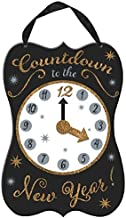 amscan Happy New Year Countdown Clock Hanging Sign | Party Decoration