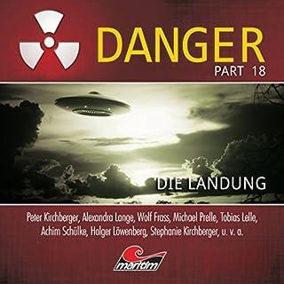 Die Landung (Danger 18) Titelbild