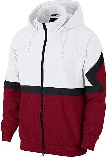 Nike Men's Jordan Sportswear Diamond Weiß rot AQ2683-100 (Größe  M)