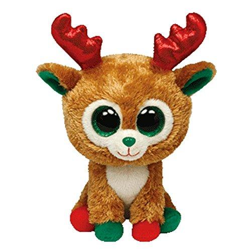 TY 36093  Beanie Boos - Alpine la Renna di Babbo Natale di Peluche